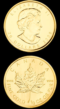 Maple Leaf 0.5 oz